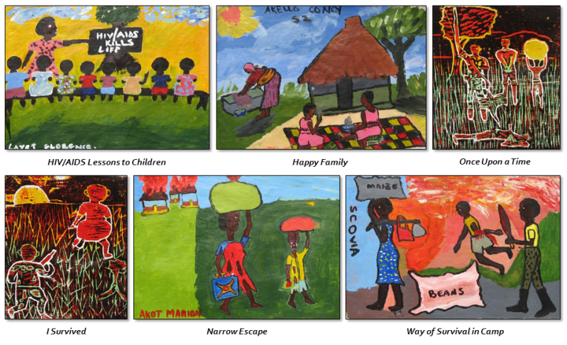 Ugandan Children's Artwork