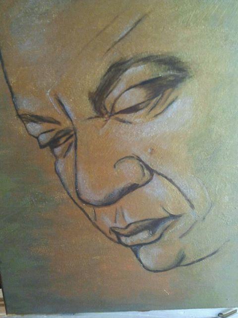 Self-Portrait by Earl Bethel