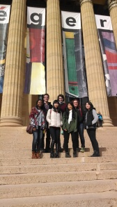 Group shot before checking out the Fernand Léger exhibit