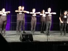 LU's Finest Step Team performs.